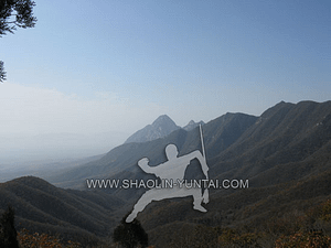 The Songshan Shaolin Mountains