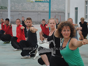 Shaolin Power…training in groups is the best.