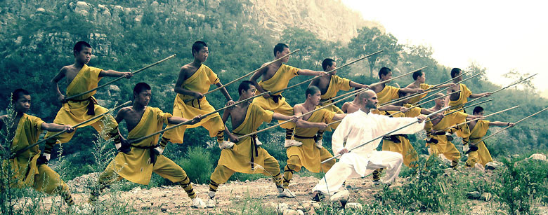 Martial Arts Training in China