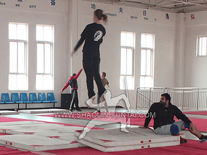Acrobatic training in China