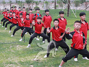 Shaolin Kung Fu Training in China