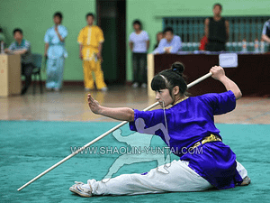 Wushu Competition in China